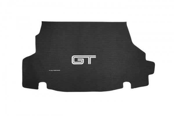 """Kofferraummatte Cabriolet 2005-2014 mit """"GT"""" Logo, Stück"""