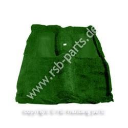 Teppich 71-73 Fastb.Mach I grün mit 2 grünen Einsätzen