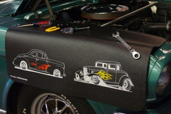 Kotflügelschoner mit - Ford Street Rods - Logo, Stück