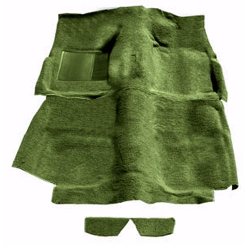 Teppich 65-68 Fastback olivgrün