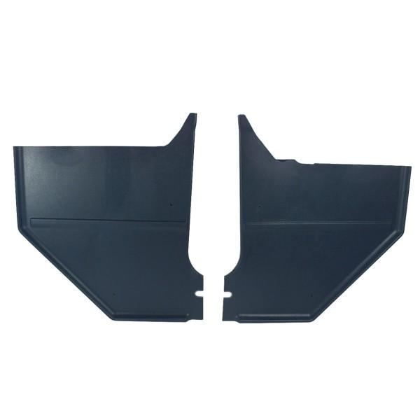 Verkleidung Fußraum, 65-66, Coupe & Fastback, blau