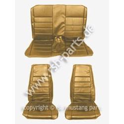 Sitzbezugsatz Standard, 71-73 Fastback, Ingwerrot (Ginger)