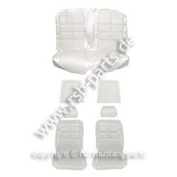 Sitzbezugsatz Deluxe, 69 Coupe, Weiß (White)