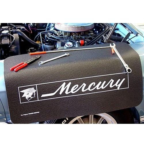 """Kotflügelschoner mit """"Mercury"""" Logo, Stück"""