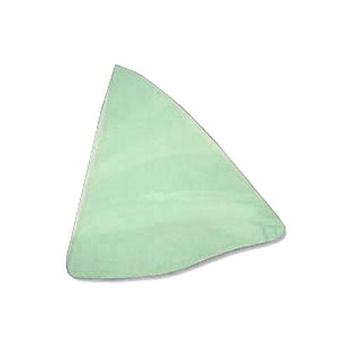 Seitenscheibe, hinten, LH, 67-68, Cabriolet, grün getönt, nur Glas