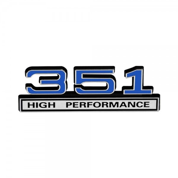 "Emblem ""351 High Performance"", Blau"