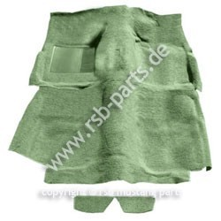 Teppich 65-68 Fastback moosgrün