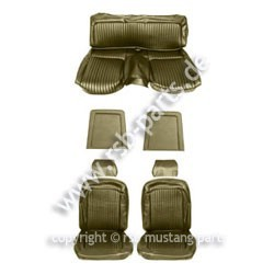 Sitzbezugsatz Standard, 69 Fastback, Dk.Efeu-Gold (Dk.Ivy Gold)