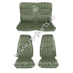 Sitzbezugsatz Deluxe, 71-73 Cabriolet, Grün (Green)