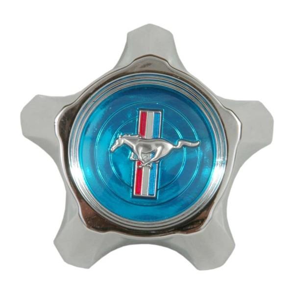 Nabenkappe, 67, mit blauem Emblem