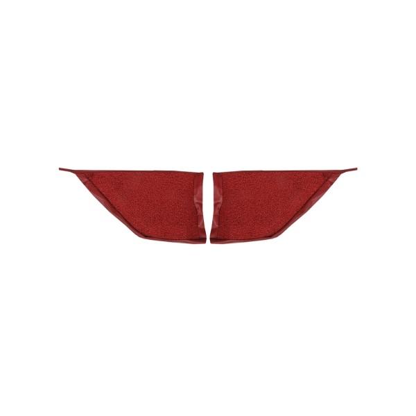 Teppichbezug Fußraum C+F 65-68 rot