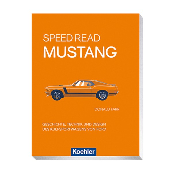 "Buch ""Speed Read Mustang"""