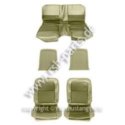 Sitzbezugsatz Standard, 67 Fastback, Efeu-Gold (Ivy Gold)