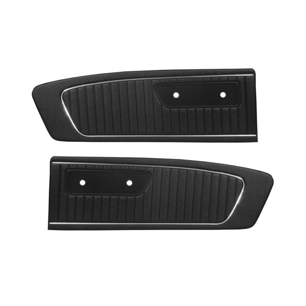 Türverkleidungen Standard 65, schwarz - B-Ware!