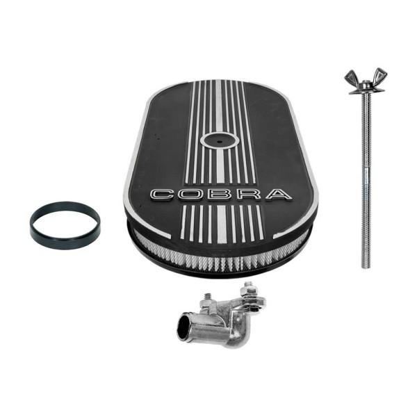 Luftfilter oval 1x4V Cobra