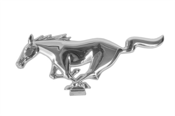 Grill-Ornament, 65-67, nur Mustang