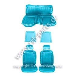 Sitzbezugsatz Standard, 69 Fastback, Hellblau (Ligth Blue)
