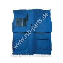 Teppich 71-73 Cabrio blau