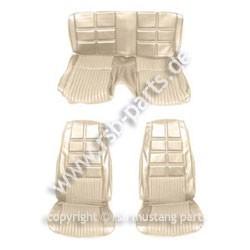 Sitzbezugsatz Deluxe, 70 Fastback, Weiß (White)