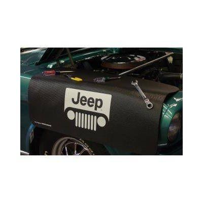 Kotflügelschoner mit - Jeep - Logo, Stück