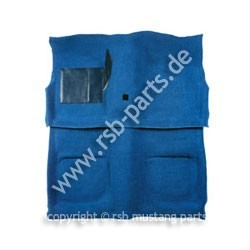 Teppich 69-70 Coupe+Fastback blau