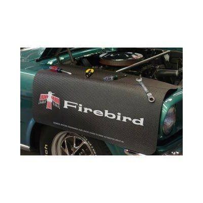 Kotflügelschoner mit - Firebird - Logo, Stück