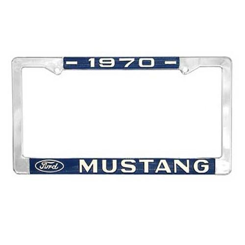 """Kennzeichenrahmen """"1970 Mustang"""""""
