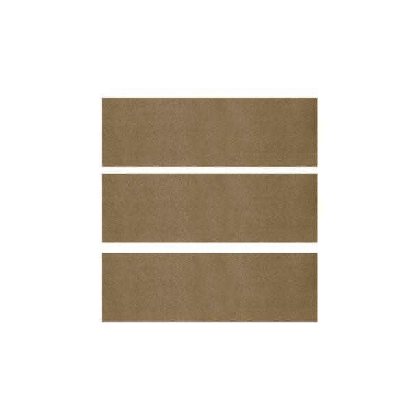 Teppich hinten 65-68 Fastback beige