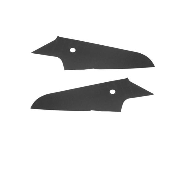 Verkleidung Innenhimmel-Dachabschluß, 69-70, Fastback, Paar, schwarz