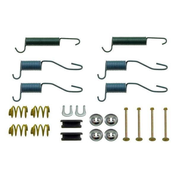 Kleinteilesatz Trommelbremse, 65-72, alle 6 Zylinder, Hinterachse