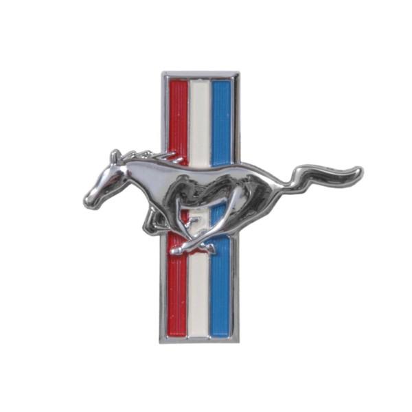 Emblem Handschuhfach, 65 gerader Deckel, 65 Pony & 66 Standard