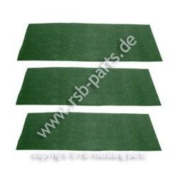 Teppich hinten 69-70 dunkelgrün
