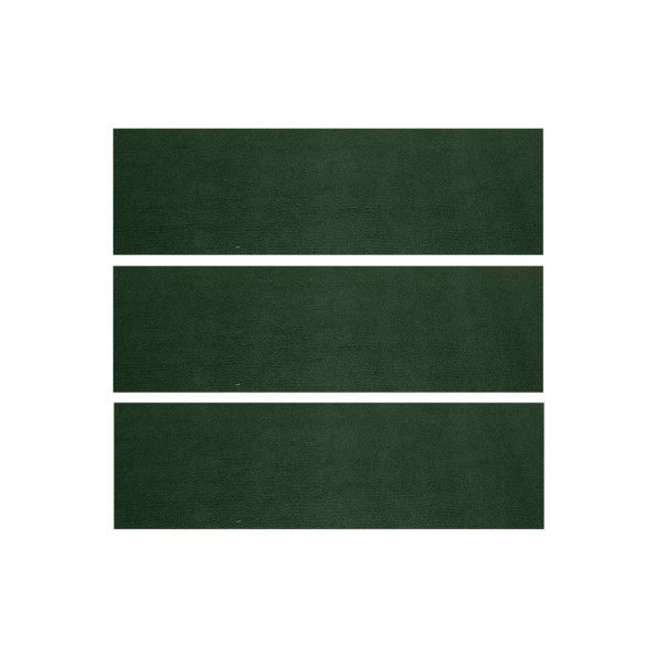 Teppich hinten 65-68 Fb dunkelgrün