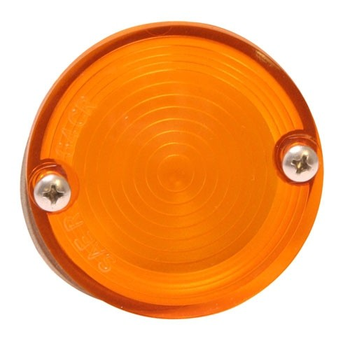 Glas Rückfahrscheinwerfer, 65-68, Gelb