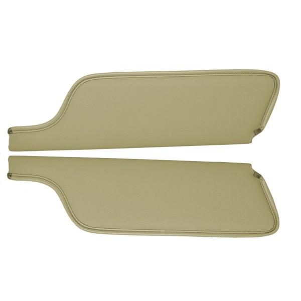 Sonnenblenden, 67-68, Coupe & Fastback, efeu-gold
