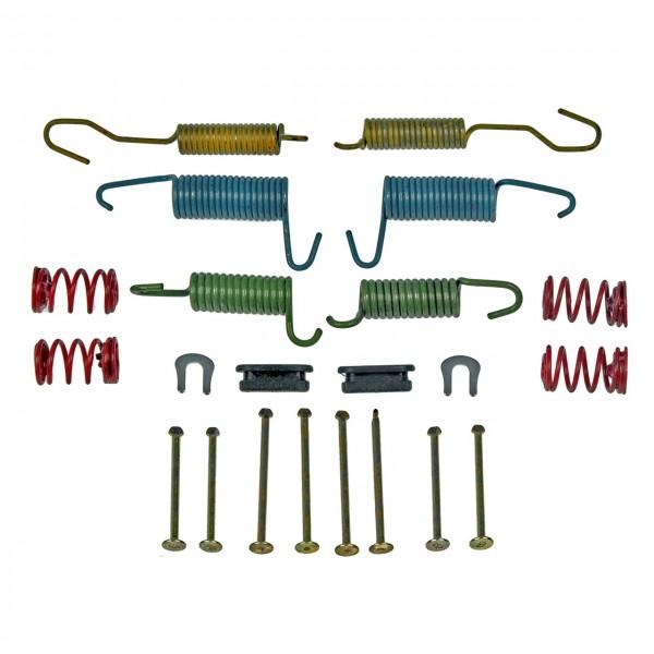Kleinteilesatz Trommelbremse, 67-73, alle 351, 390, 428 & 429, Vorder- oder Hinterachse