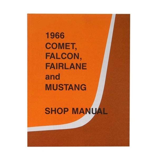 """Buch """"Shop Manual"""" - Werkstatthandbuch, 66"""
