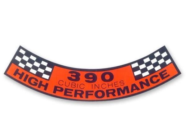 Luftfilteraufkleber 390 HIPO 67-68