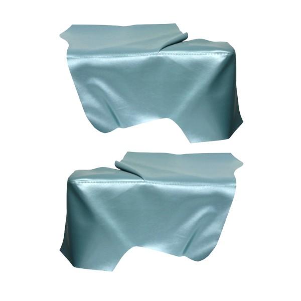 Bezug Seitenwandverkleidung, Cabrio, 65-68, türkis