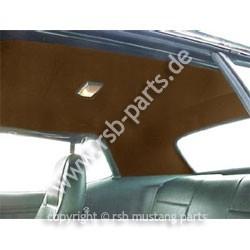 Dachhimmel71-73 Coupe dunkelbraun