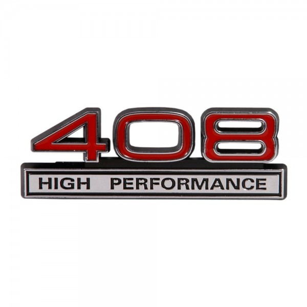 "Emblem ""408 High Performance"", Rot"