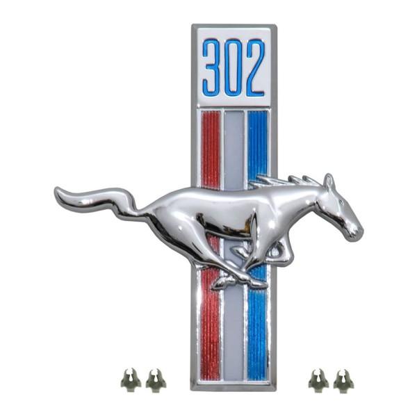 Kotflügel-Emblem, RH, 302, 68