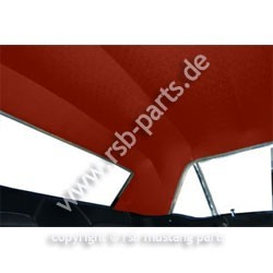 Dachhimmel 65-70 Coupe rotbraun