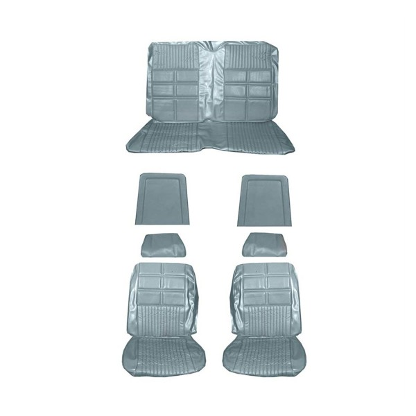 Sitzbezugsatz Deluxe, 69 Cabriolet, Hellblau (Light Blue)