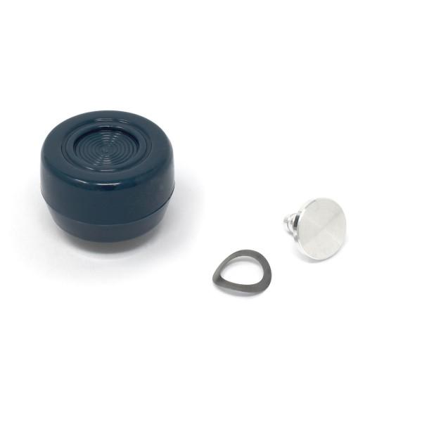 Knopf Fensterkurbel, 68-73, Blau