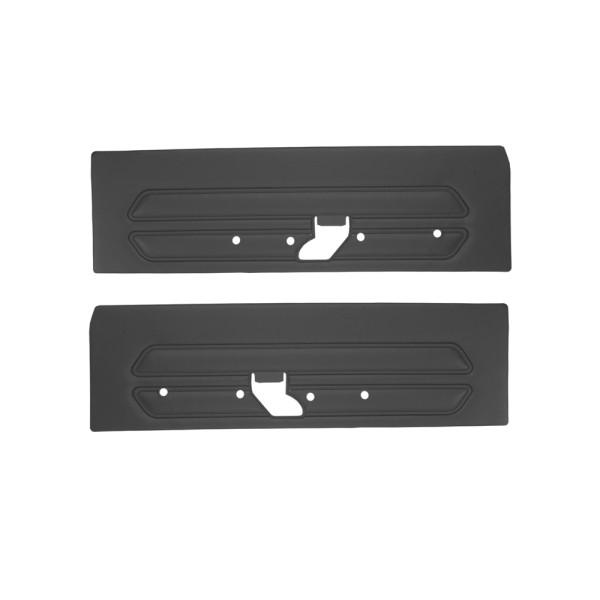 Türverkleidungen Standard, 69, schwarz