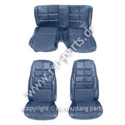 Sitzbezugsatz Deluxe, 70 Fastback, Blau (Blue)