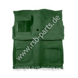 Teppich 71-73 Coupe+Fastback dunkelgrün