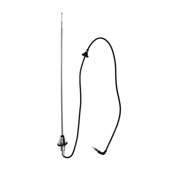 Antenne, 65-68, Chrom, mit rundem Fuß, feststehend