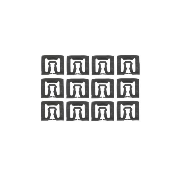 Clip für Scheiben-Zierleisten, 66-73, 12-Stück